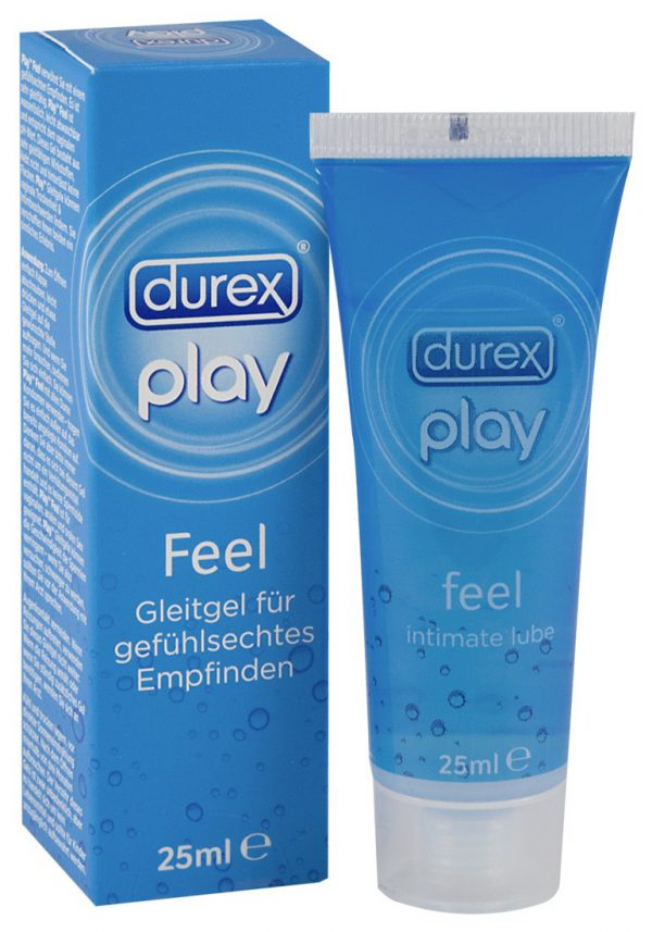 lubrificante intimo in gel durex play feel 25 ml